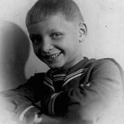 Eduard Hil as a young boy