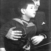 David Oistrakh with his son Igor.